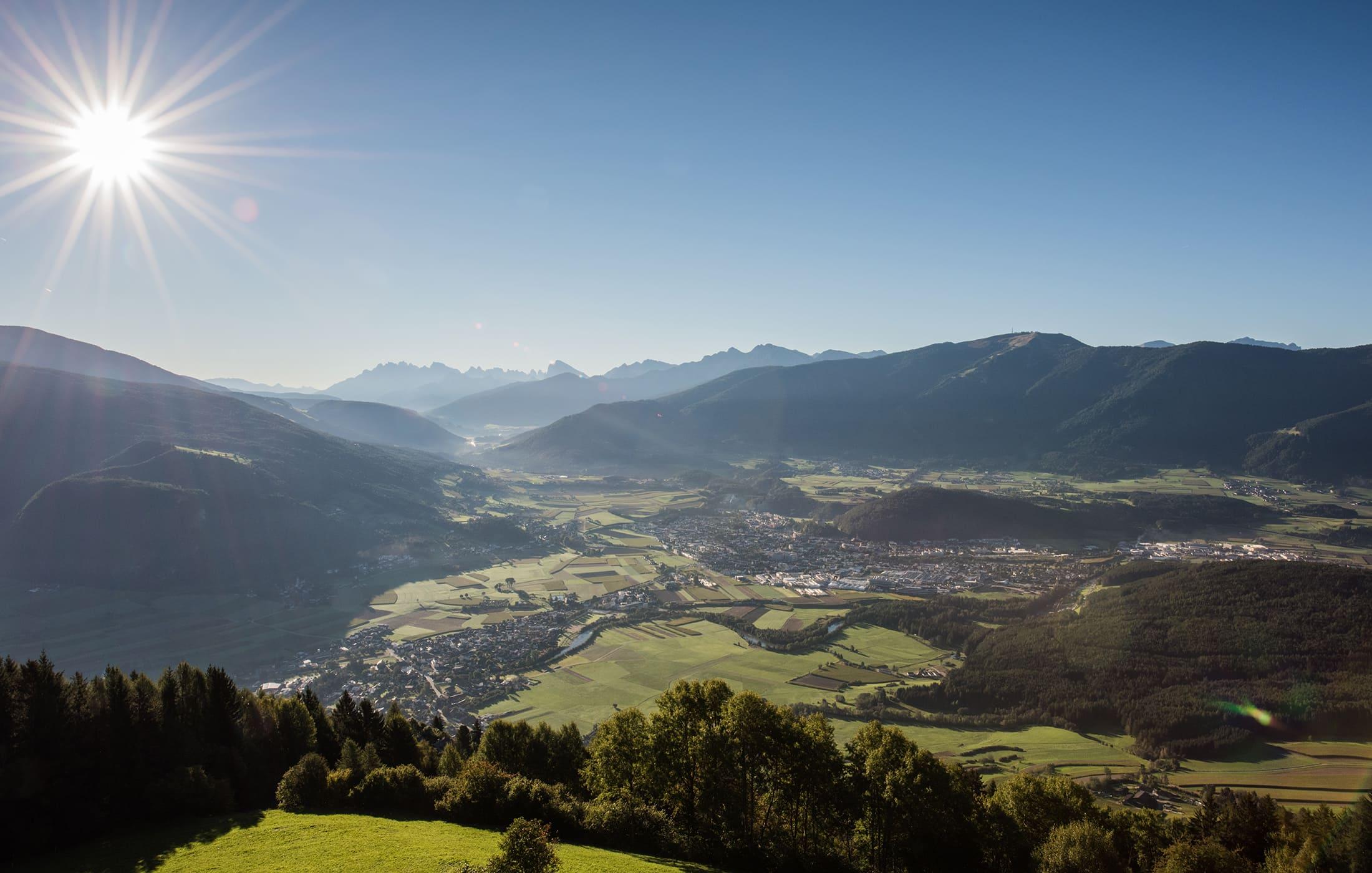 Christlrumerhof Berge Sonnenaufgang