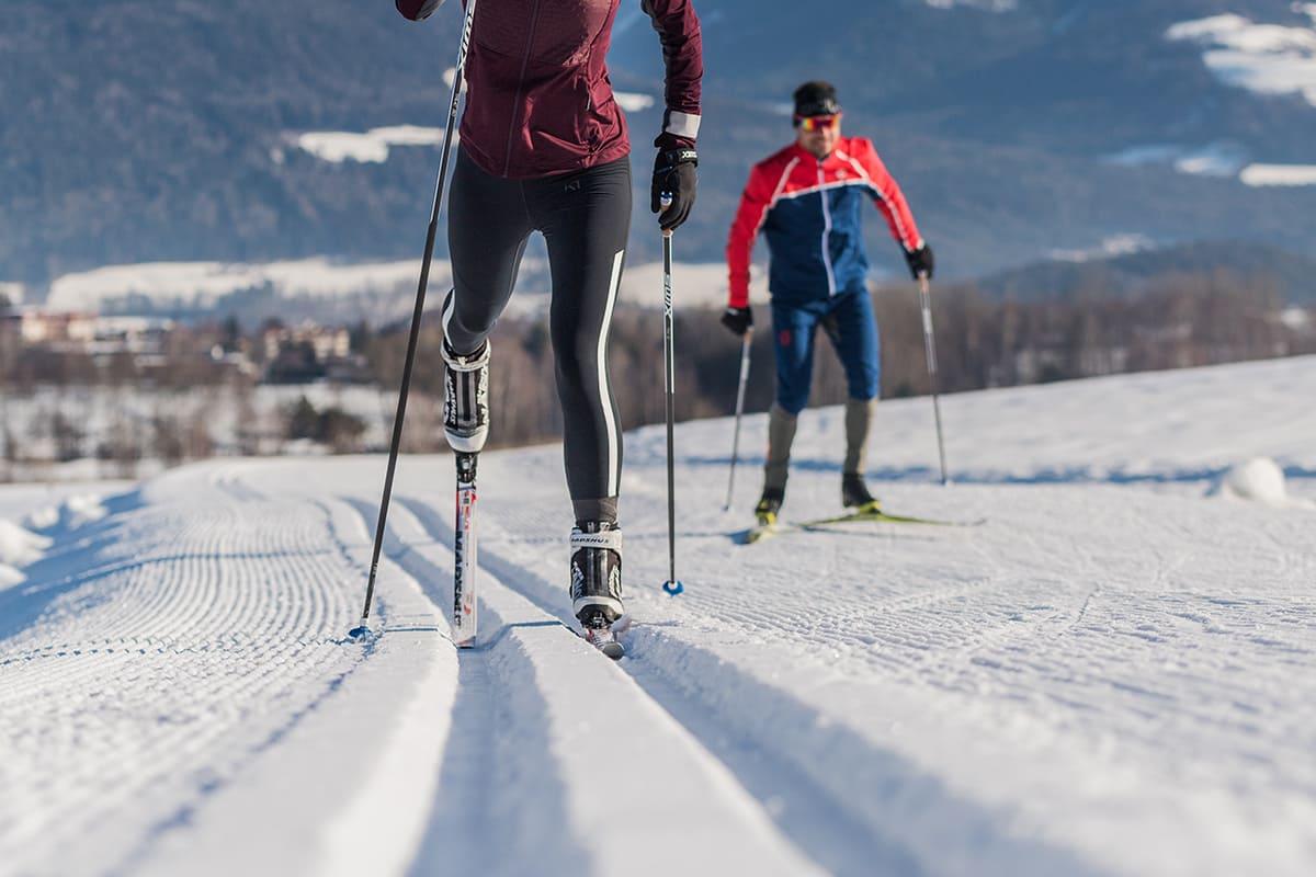Winterwalk at Plan de Corones in the Pustertal valley
