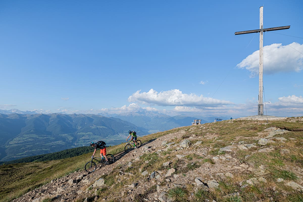 Bike tour in the Pustertal valley, Southtyrol