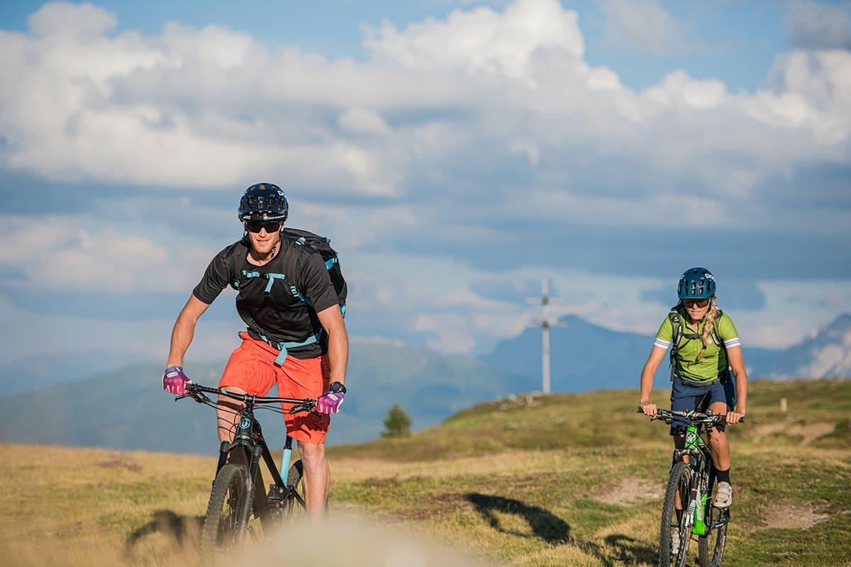 Radtour im Pustertal in Südtirol