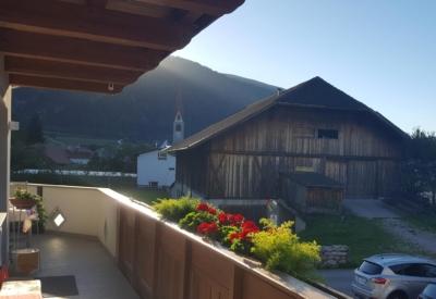 Christlrumerhof Slider Bauernhof Aussicht Balkon