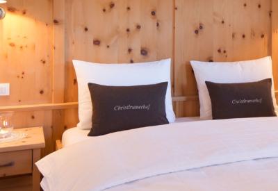 Christlrumerhof Slider Bauernhof Ferienwohnungen Appartement Schlafzimmer