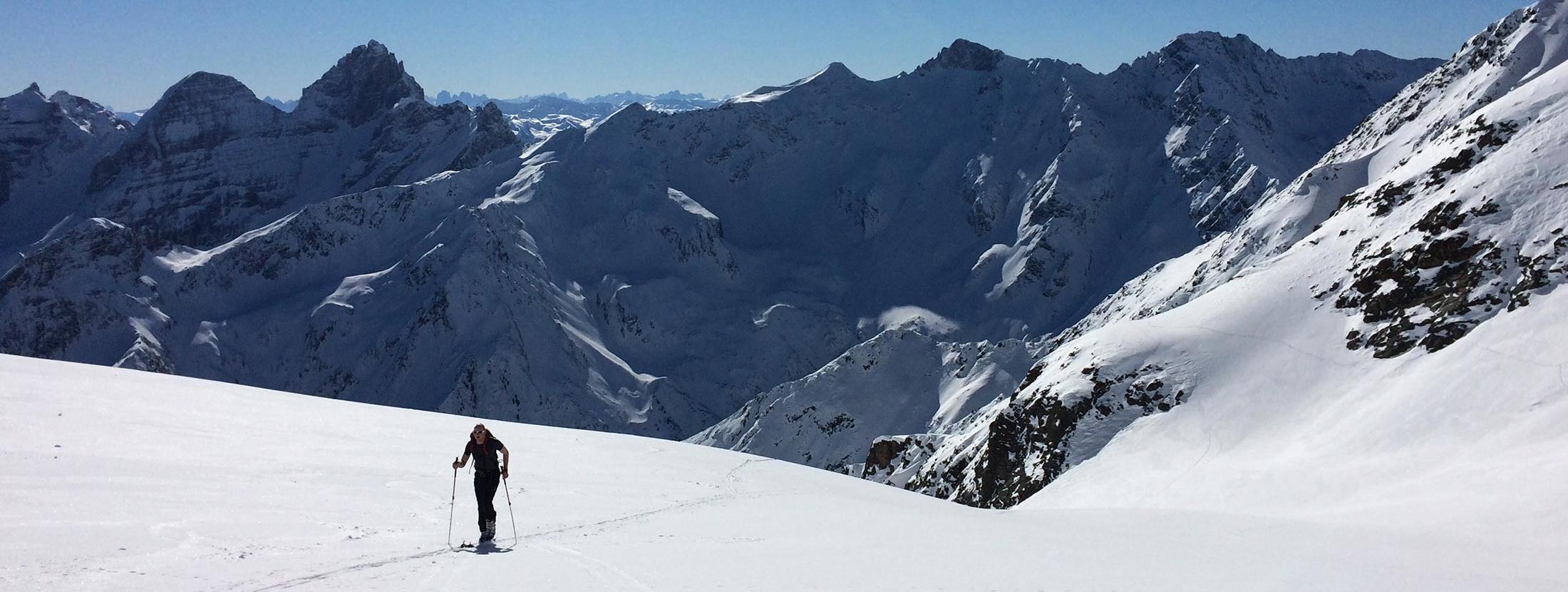 Christlrumerhof Slider Winterwandern Skifahren Skitouren