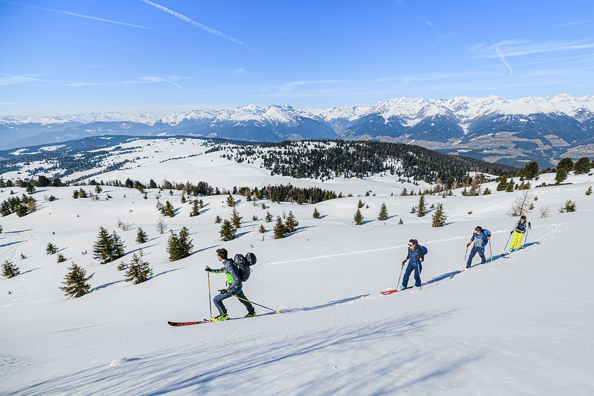 Christlrumerhof Urlaub im Pustertal Winterwandern Skitouren