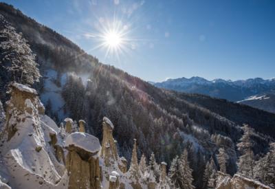 Winter Erdpyramiden 1 ©Harald Wisthaler