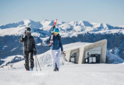 Winter Kronplatz Ski 3 ©Harald Wisthaler