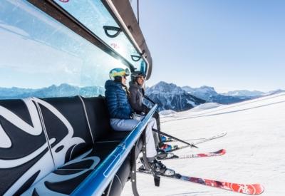 Winter Kronplatz Ski 4 ©Harald Wisthaler