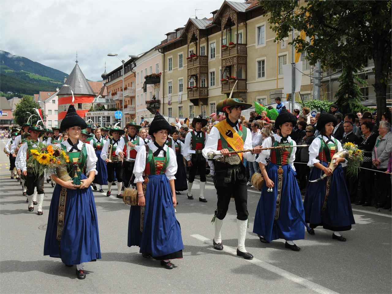Bruneck Stadt i m Pustertal in Südtirol