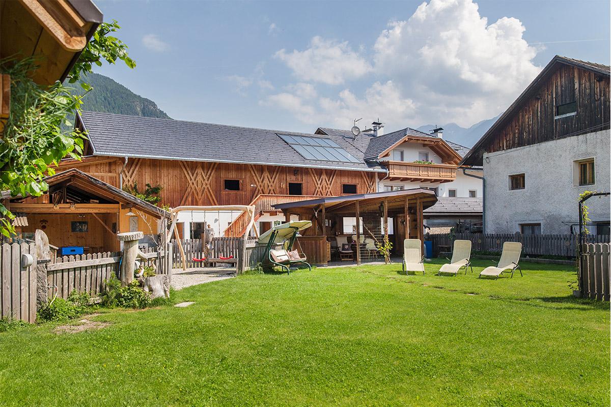 Unser Garten am Christlrumerhof