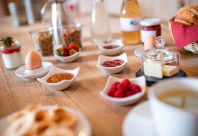Christlrumerhof unser Frühstück