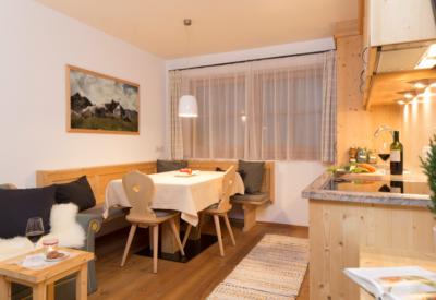 Christlrumerhof Ferienwohnung Wohnraum Fichte