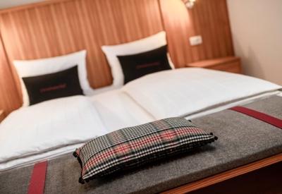 Christlrumerhof Ferienwohnung Schlafzimmer Lärche
