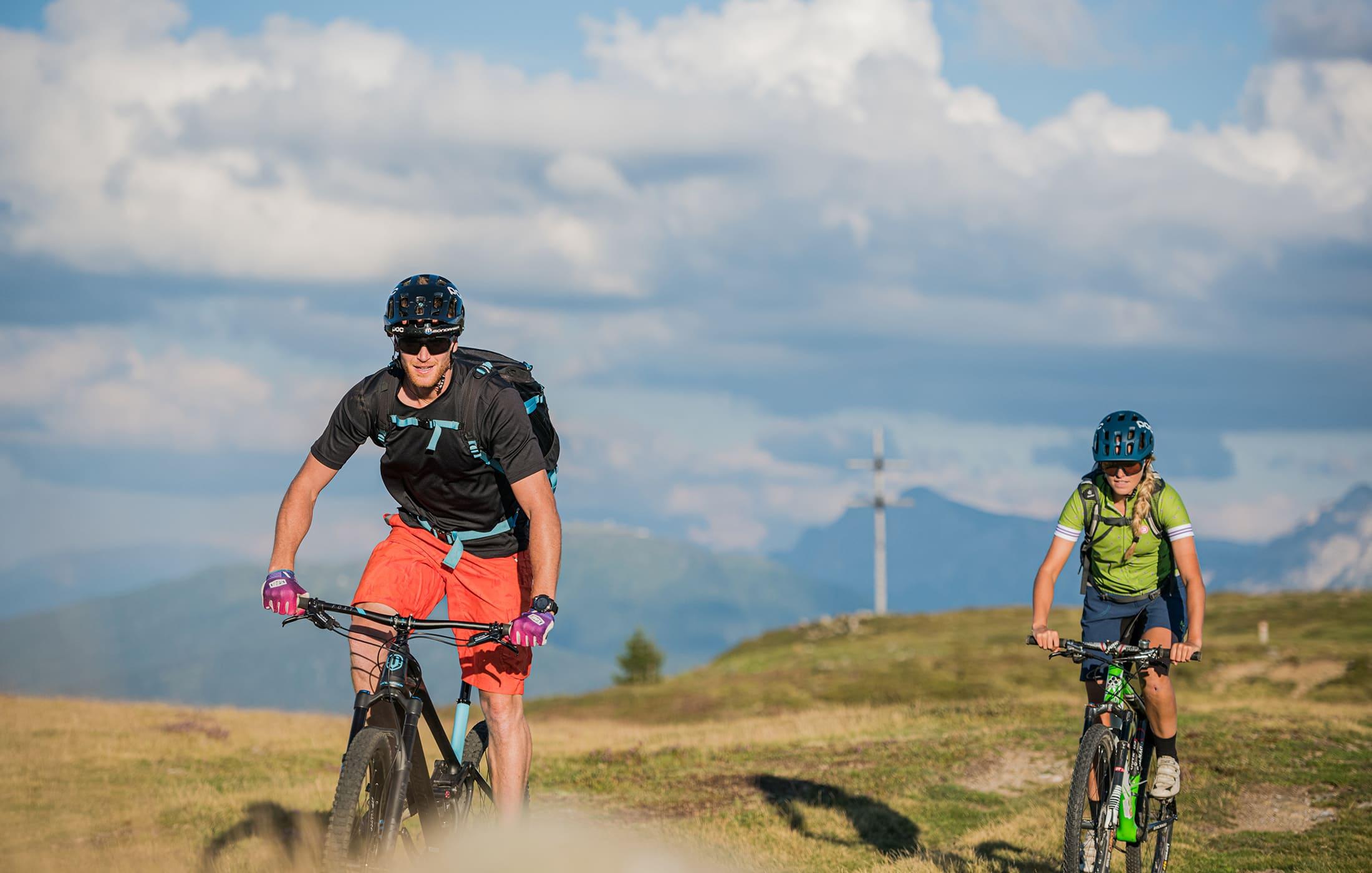 Christlrumerhof Bike Berge Slide
