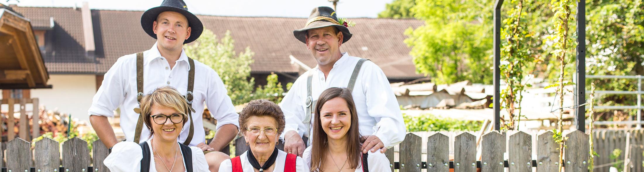 Christlrumerhof Familie Slider