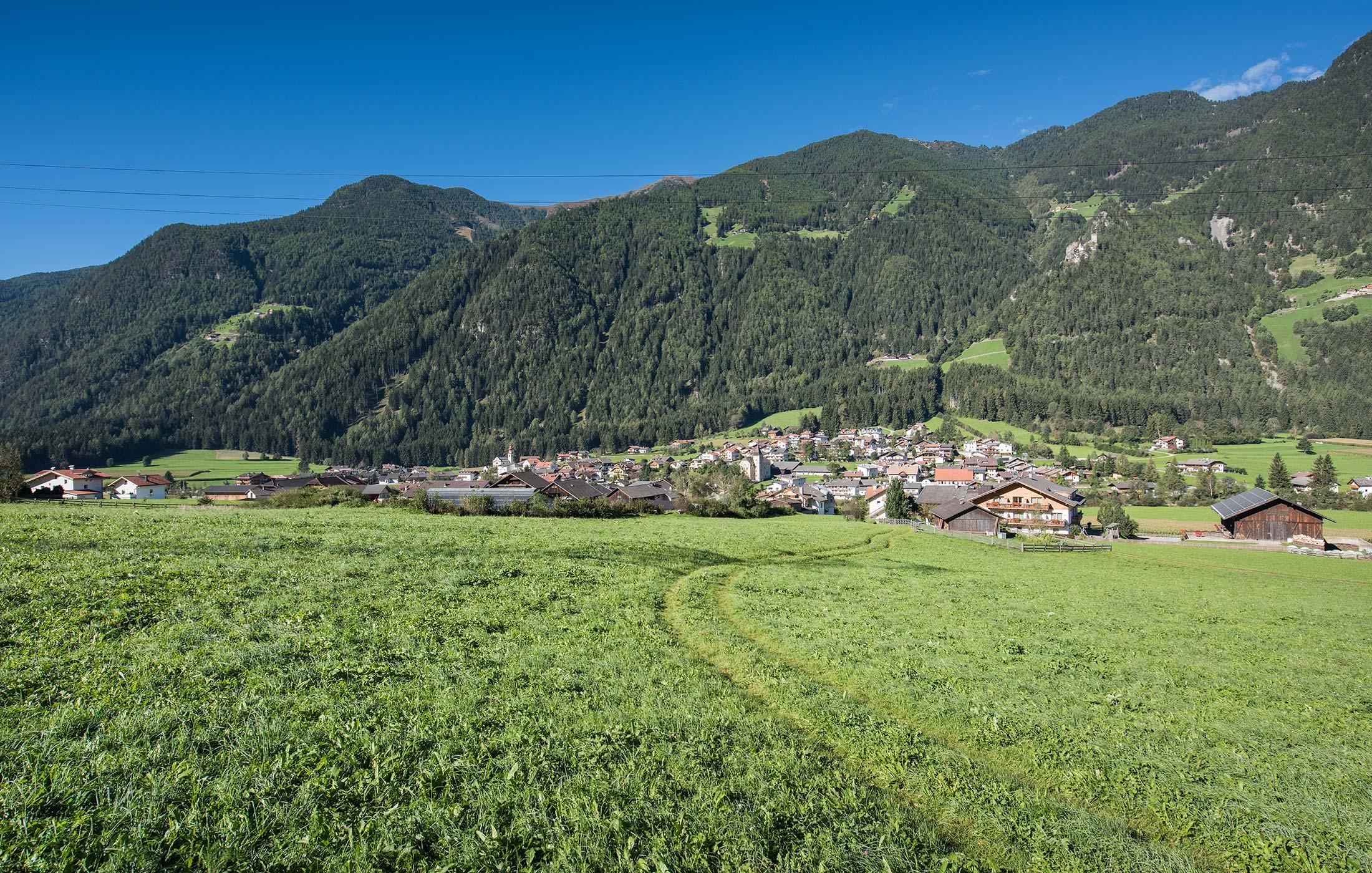Laufen im Pustertal in Südtirol