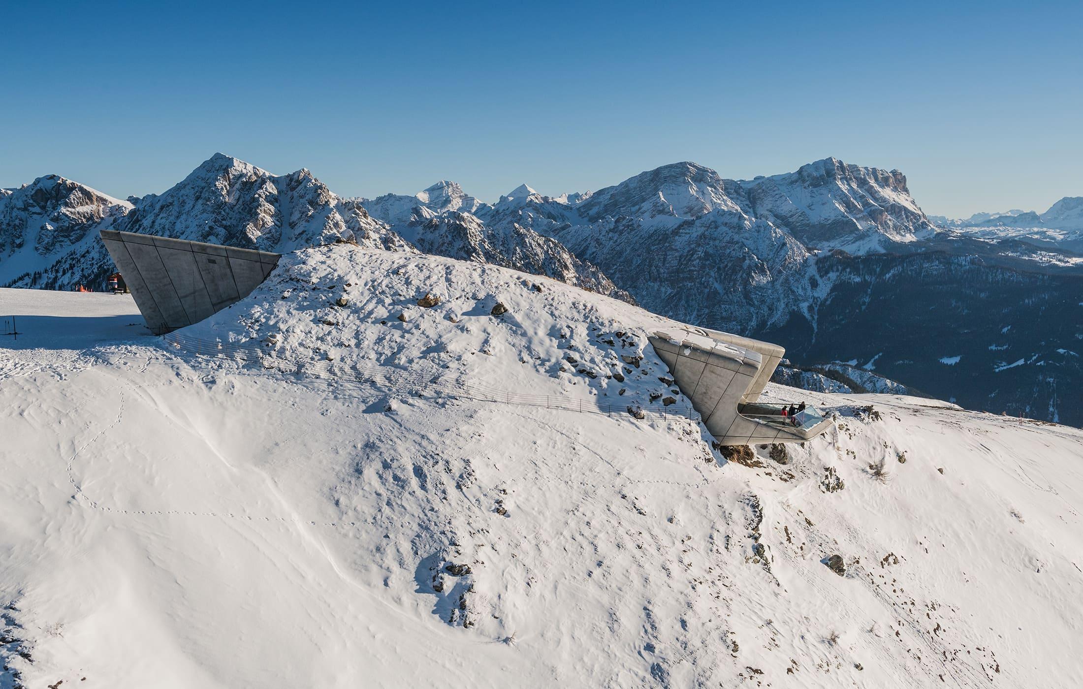 Rodeln im Pustertal in Südtirol