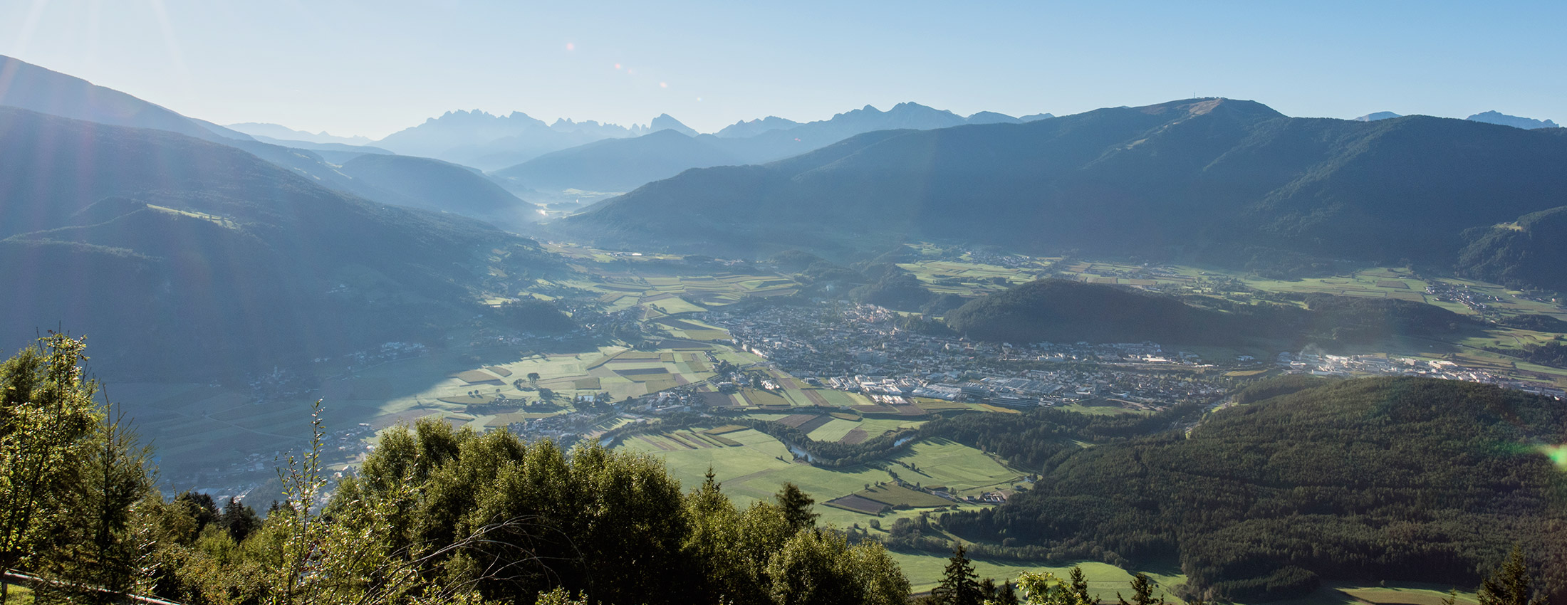 Bruneck im Pustertal in Südtirol