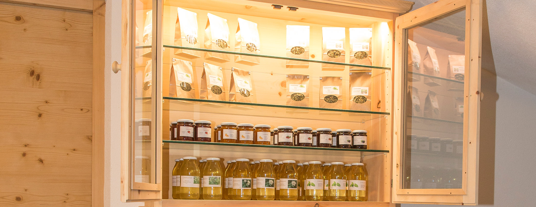Christlrumerhof Unsere frischen Produkte am Christlrumerhof am Kronplatz