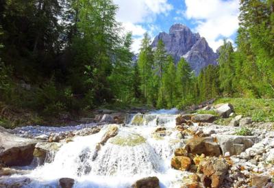 3 Zinnen im Pustertal in Südtirol