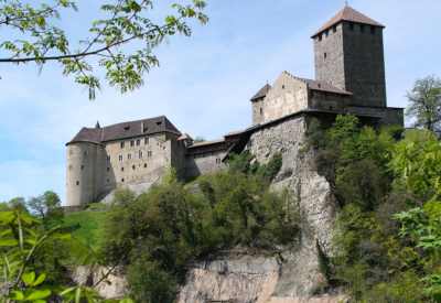 Schloss im Pustertal in Südtirol
