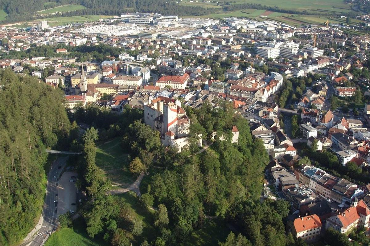 Bruneck in Südtirol im Pustertal
