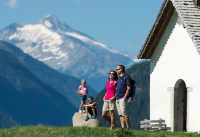 Wandern mit der Familie im Pustertal in Südtirol