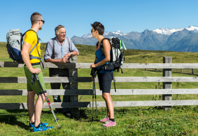 Wandern im Pustertal in Südtirol