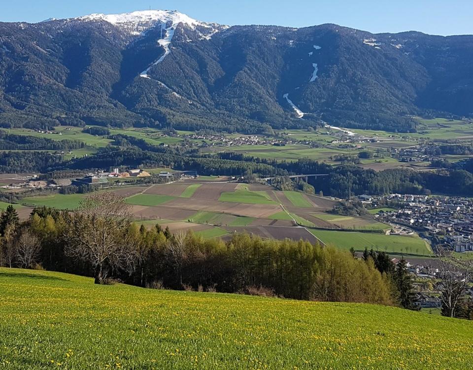 Tourenempfehlung Rund um Bruneck mit dem Mountainbike
