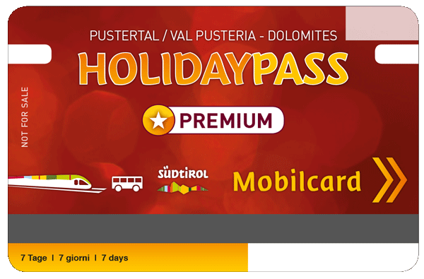 Holidaypass Bruneck Val Pusteria Dolomites